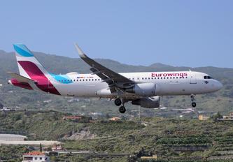 D-AEWN - Eurowings Airbus A320