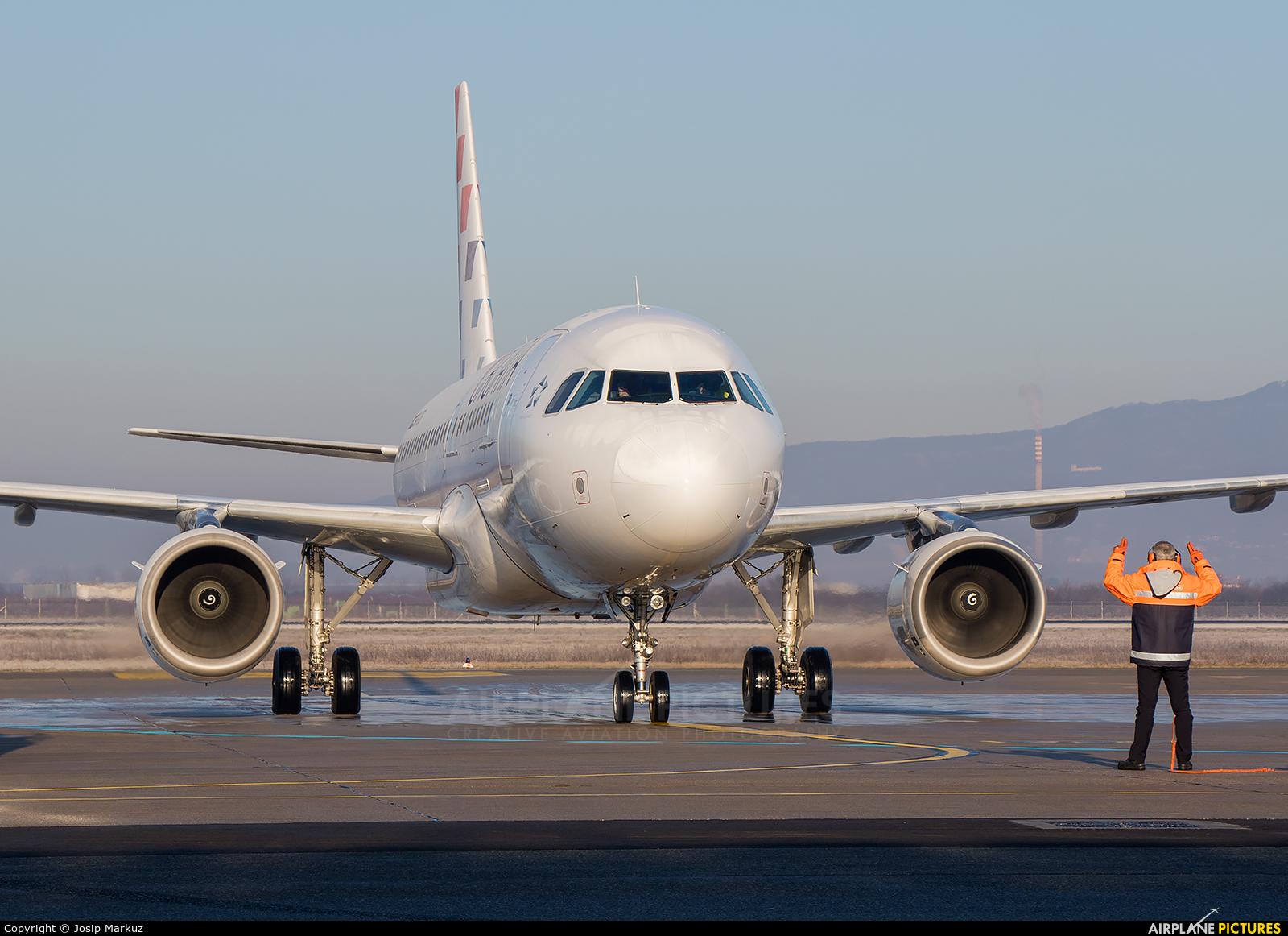 Trade Air 9A-BTG aircraft at Zagreb