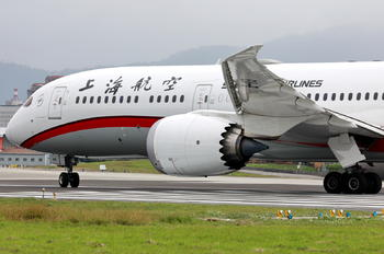 B-1113 - Shanghai Airlines Boeing 787-9 Dreamliner