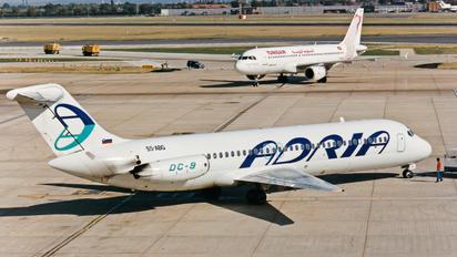 S5-ABG - Adria Airways McDonnell Douglas DC-9