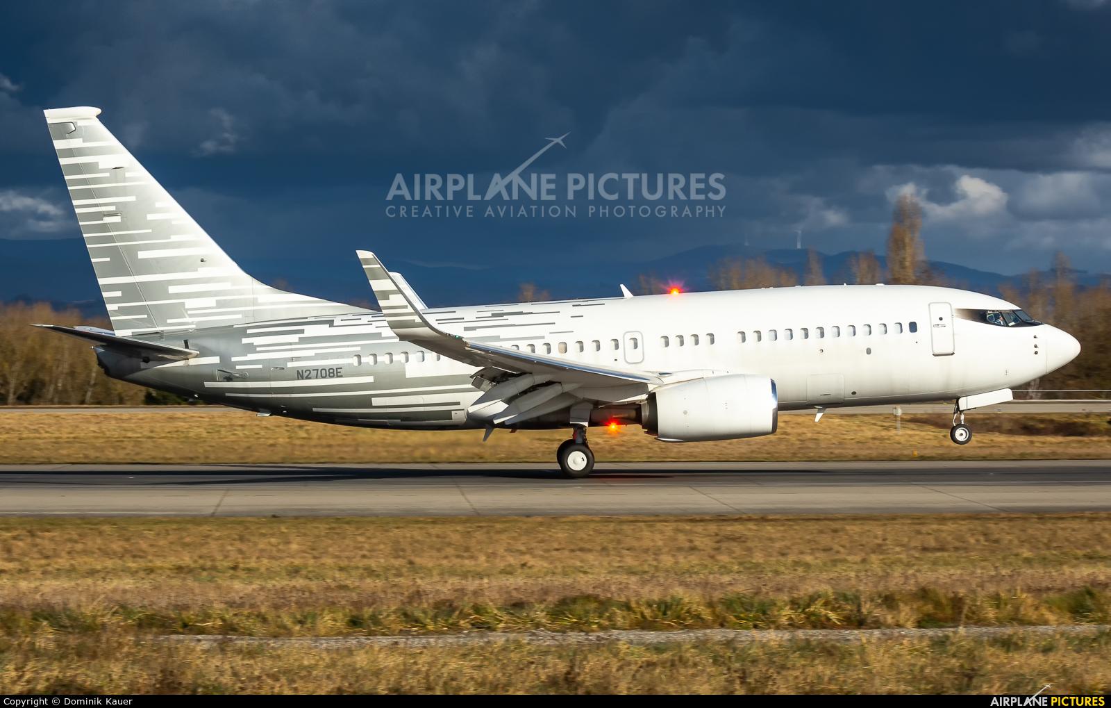 Private N2708E aircraft at Basel - Mulhouse- Euro