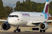 D-ABHN - Eurowings Airbus A320 aircraft