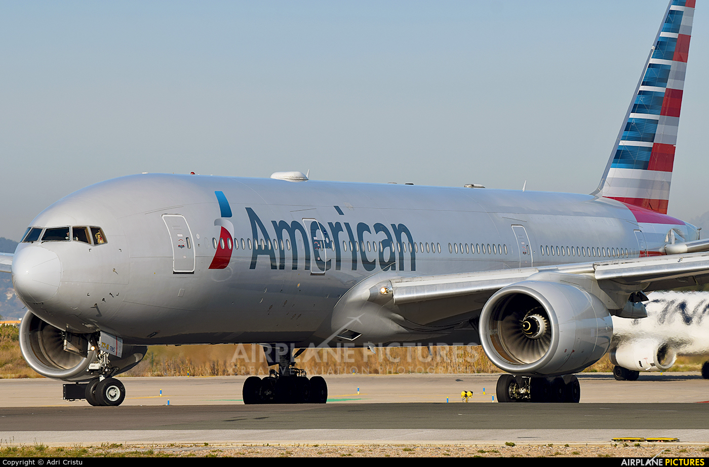 American Airlines N781AN aircraft at Barcelona - El Prat