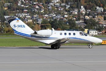 D-IHEB - Private Cessna 525 CitationJet