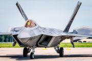 09181 - USA - Air Force Lockheed Martin F-22A Raptor aircraft