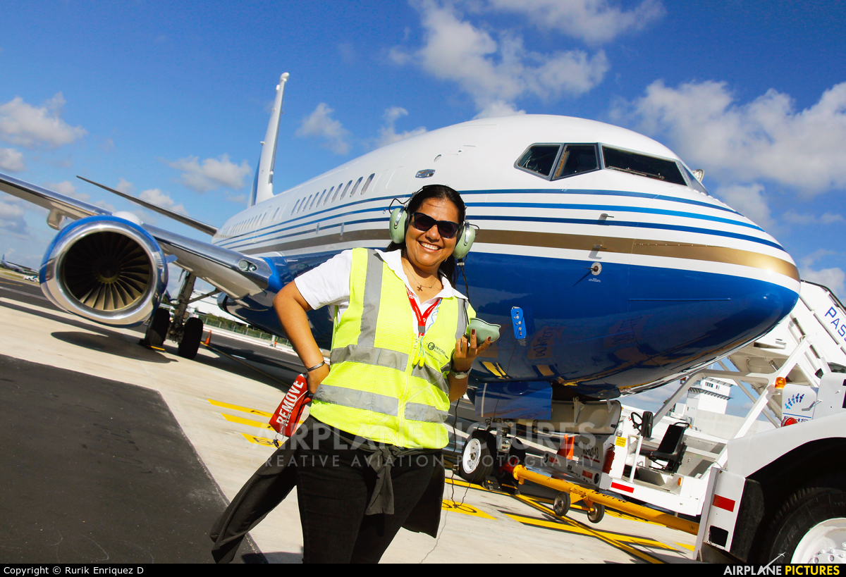 Las Vegas Sands - aircraft at Cancun Intl