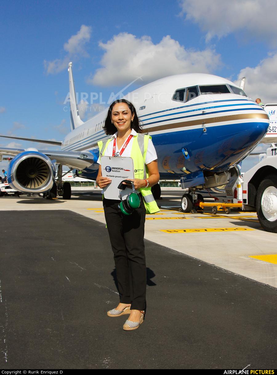 Las Vegas Sands - aircraft at Cancun Intl