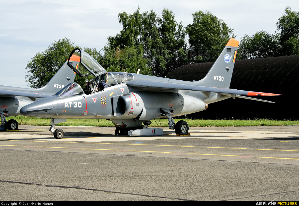 Belgium - Air Force AT32 aircraft at Beauvechain