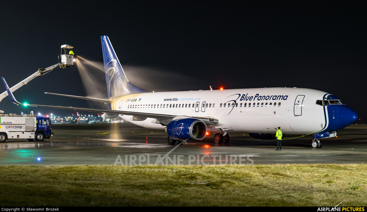 Blue Panorama Airlines 9H-GAW aircraft at Katowice - Pyrzowice