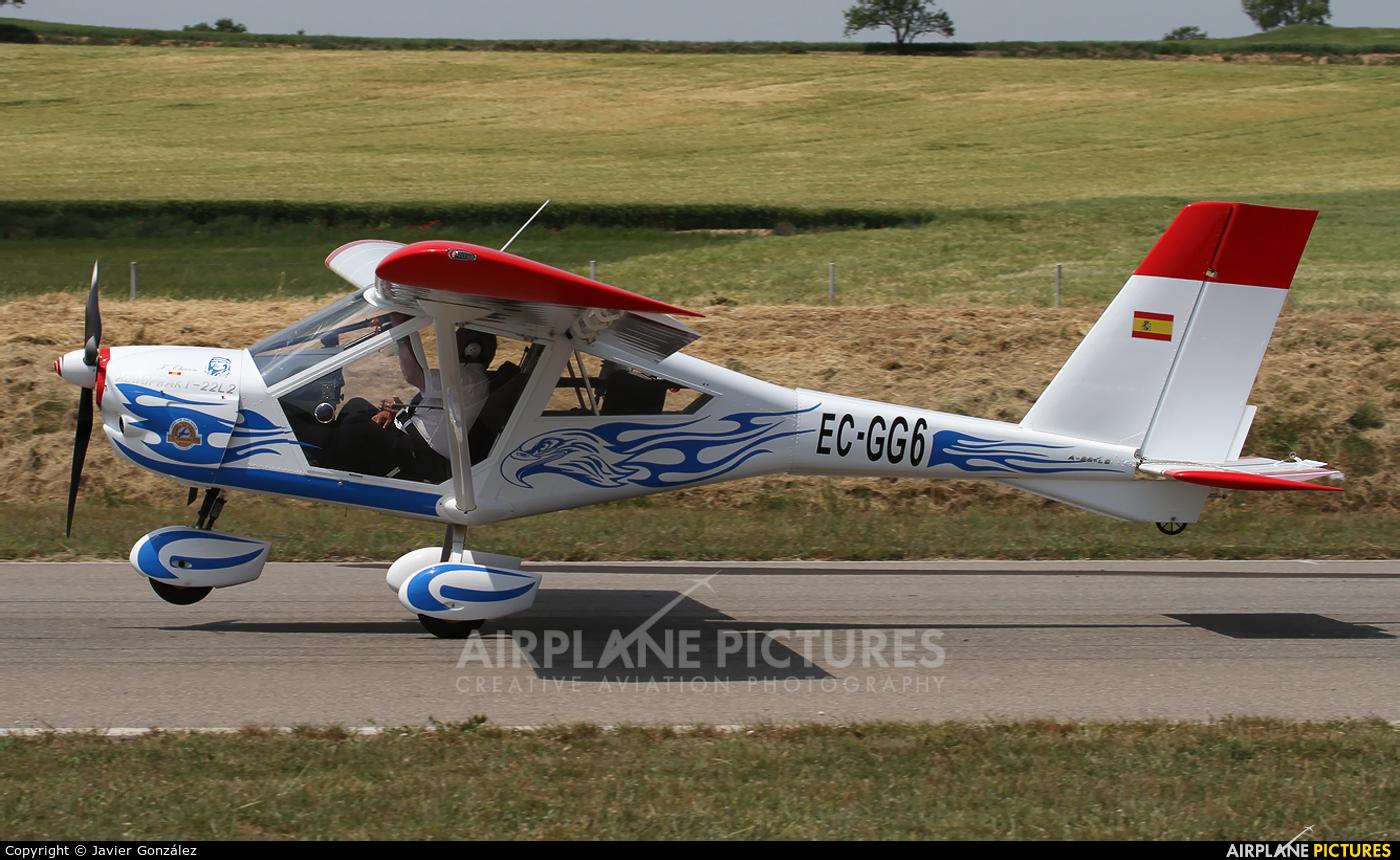 Private EC-GG6 aircraft at Igualada - Odena
