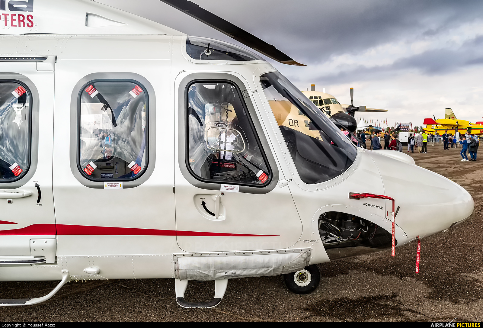 Heliconia Aero Solutions CN-HAE aircraft at Marrakech - Menara