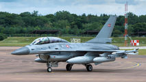 ET-197 - Denmark - Air Force General Dynamics F-16B Fighting Falcon aircraft