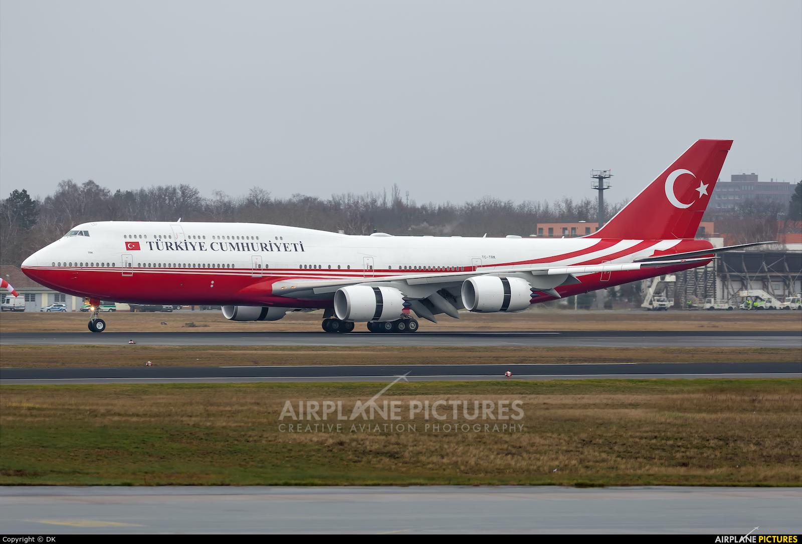 Turkey - Government TC-TRK aircraft at Berlin - Tegel