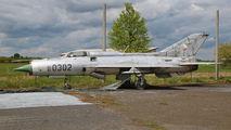 0302 - Czechoslovak - Air Force Mikoyan-Gurevich MiG-21PF aircraft