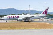 Qatar Cargo Boeing 777F visited Guatemala title=