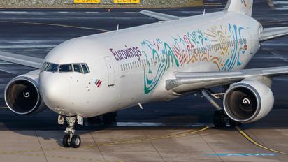 HB-JJF - Eurowings Boeing 767-300ER