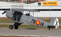 EC-DAU - Private Casa 1.131E Jungman aircraft