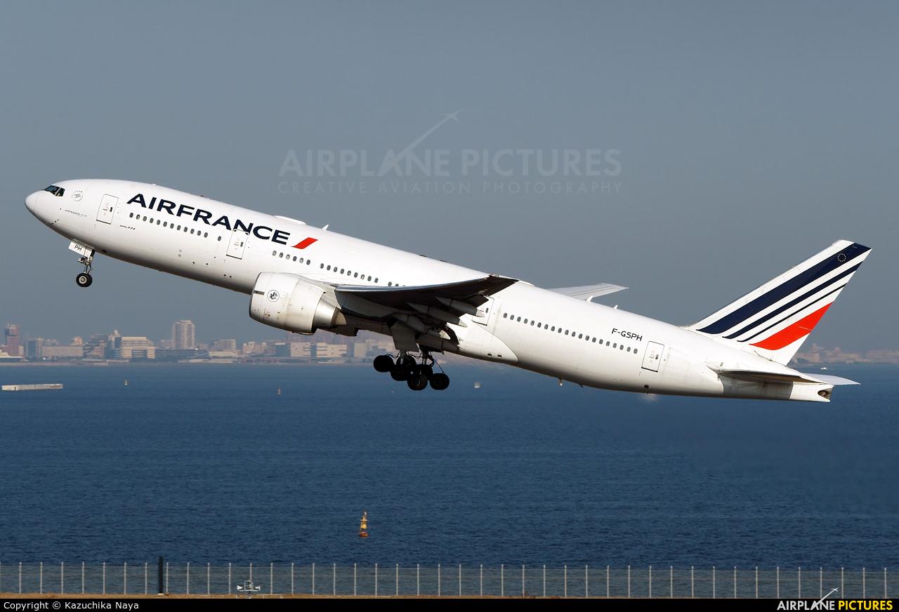Air France F-GSPH aircraft at Tokyo - Haneda Intl