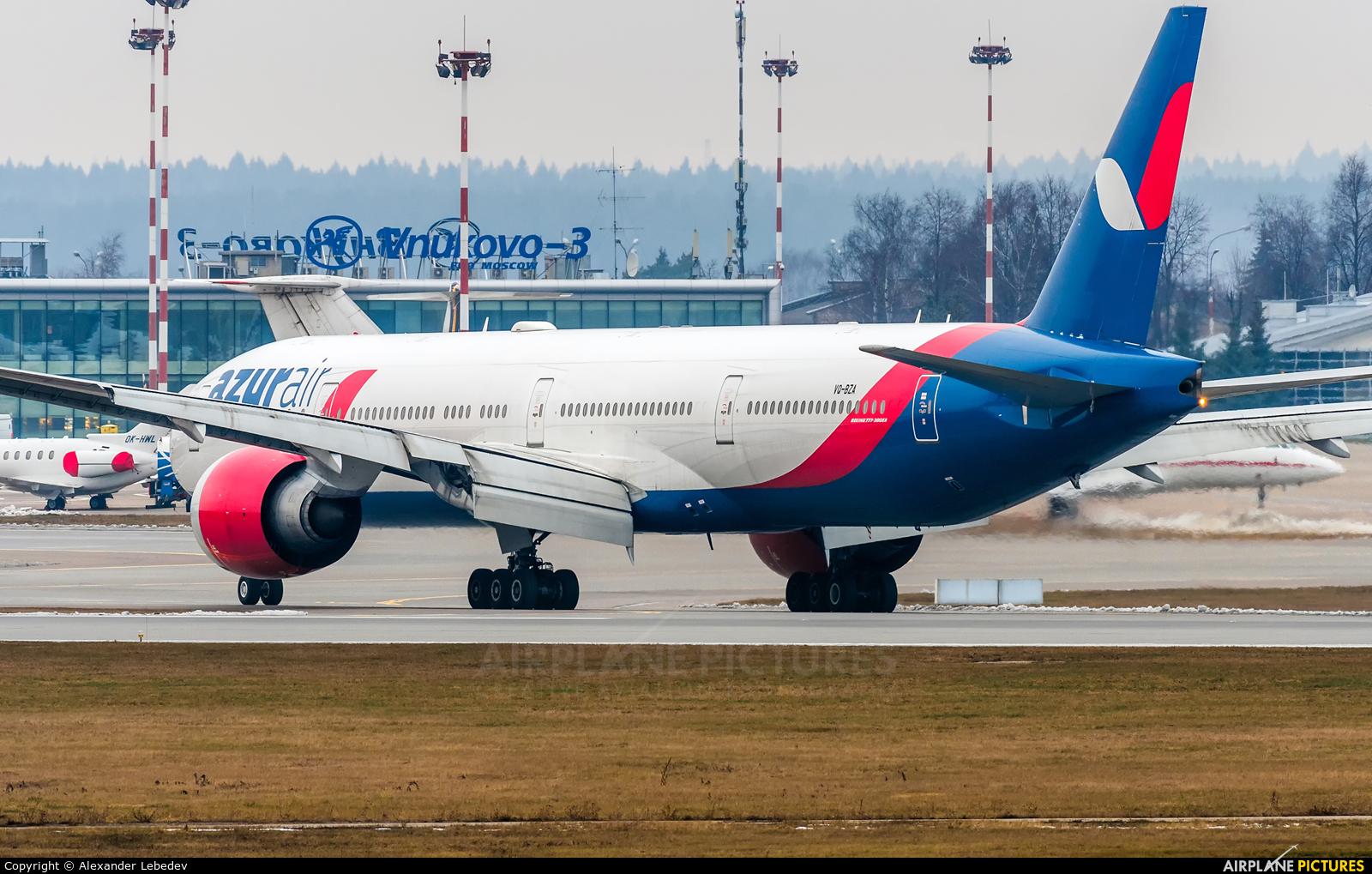AzurAir VQ-BZA aircraft at Moscow - Vnukovo