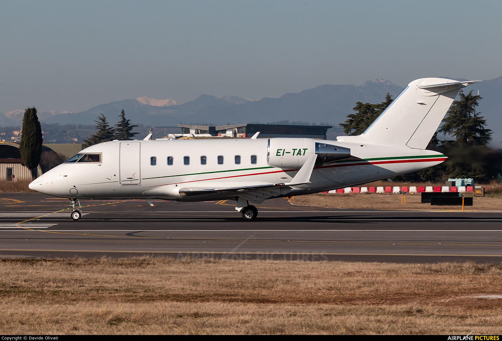 Private EI-TAT aircraft at Verona - Villafranca