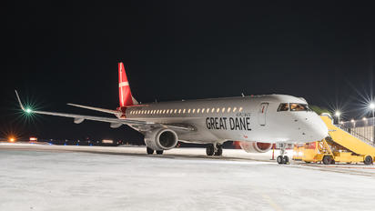 OY-GDB - Great Dane Airlines Embraer ERJ-195 (190-200)