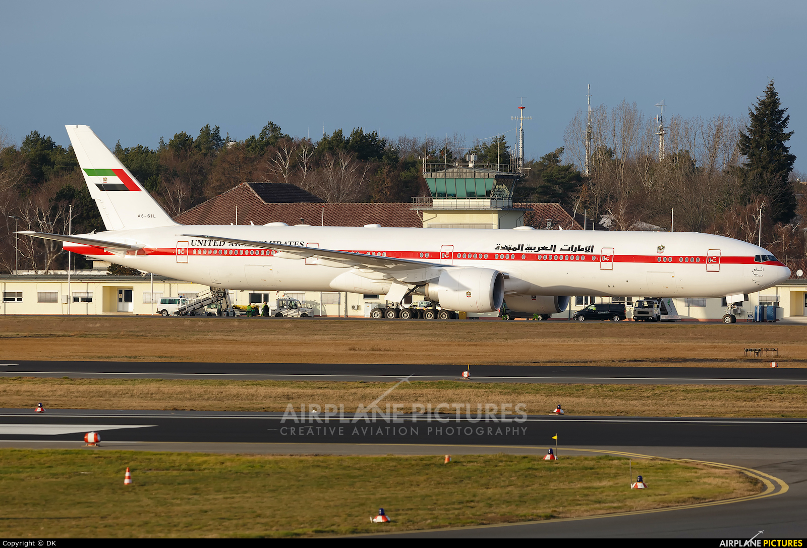 United Arab Emirates - Government A6-SIL aircraft at Berlin - Tegel