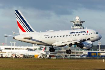 F-GUGC - Air France Airbus A318