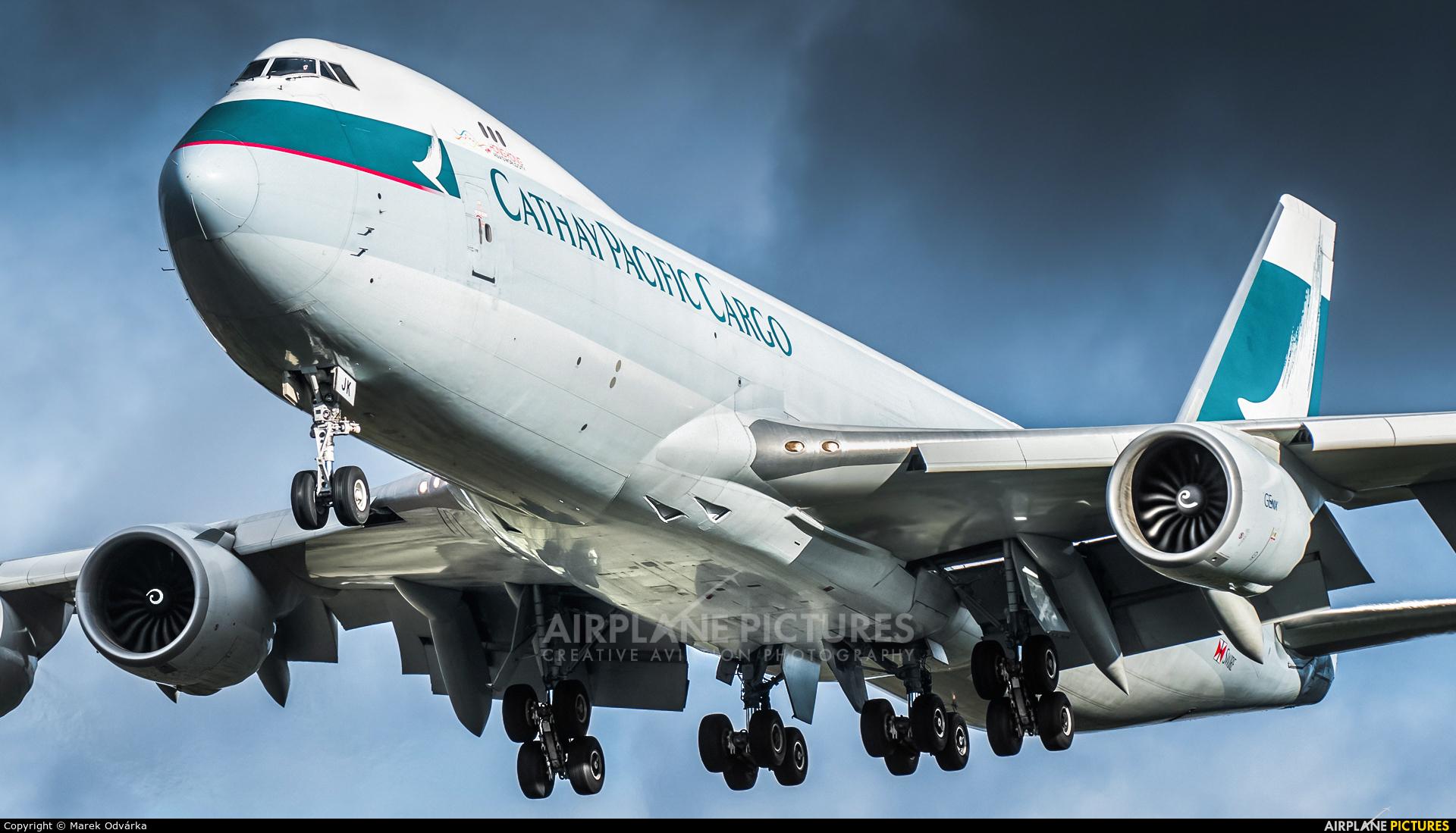 Cathay Pacific Cargo B-LJK aircraft at Frankfurt