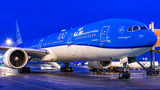 KLM B777 made an unexpected visit to Prague due to medical diversion