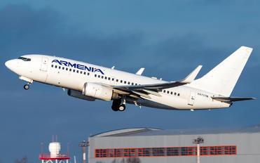 EK73786 - Armenia Aircompany Boeing 737-700