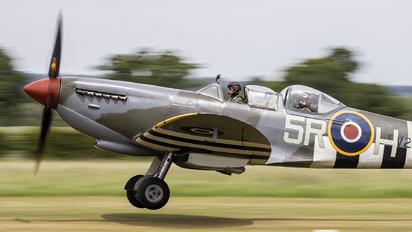 G-CCCA - Boultbee Flight Academy Supermarine Spitfire T.9