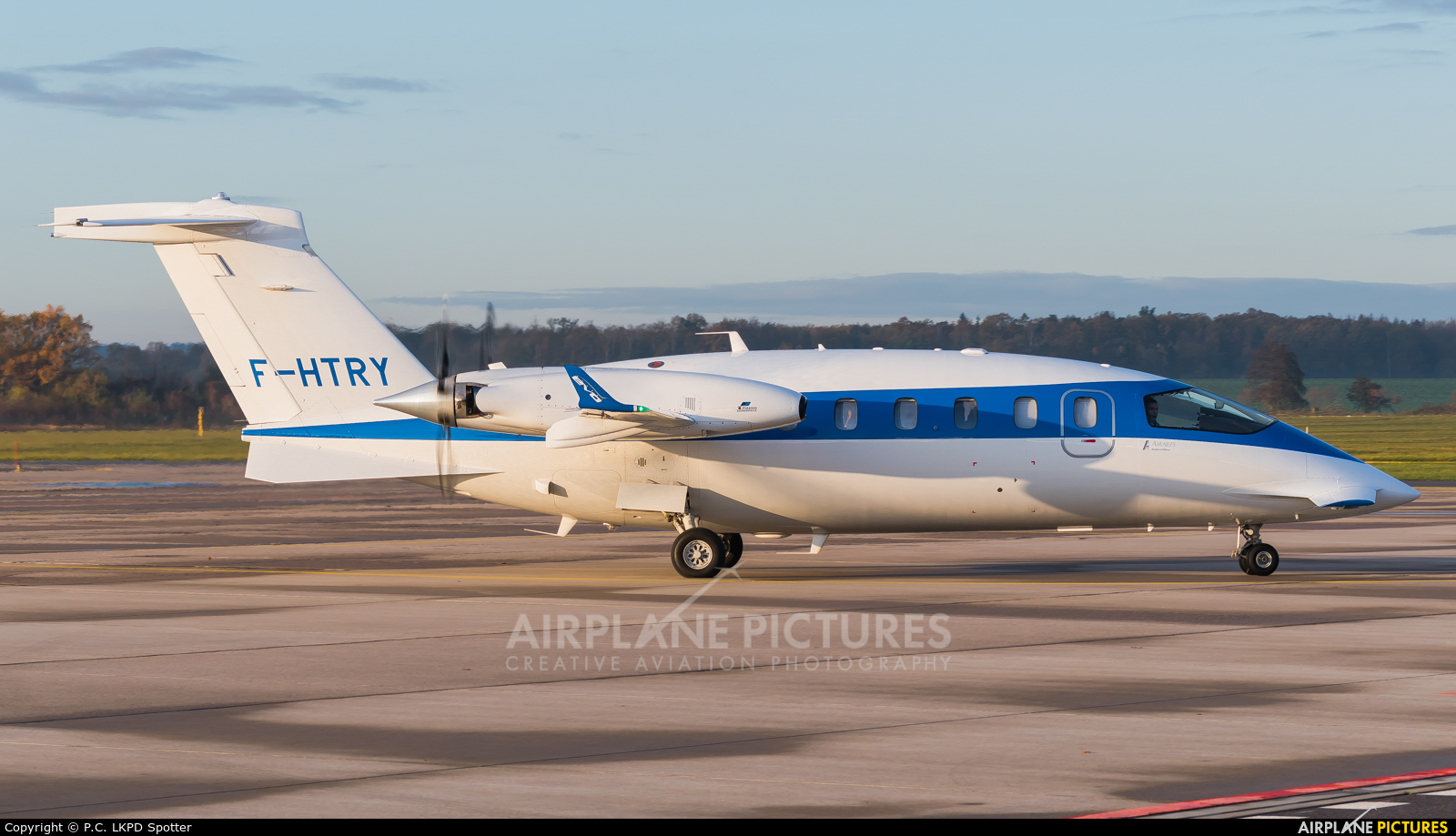 Air Alsie F-HTRY aircraft at Pardubice