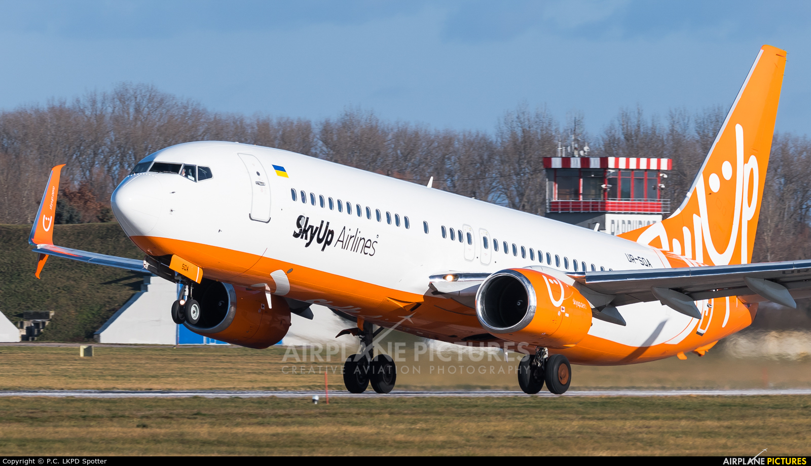 SkyUp Airlines UR-SQA aircraft at Pardubice