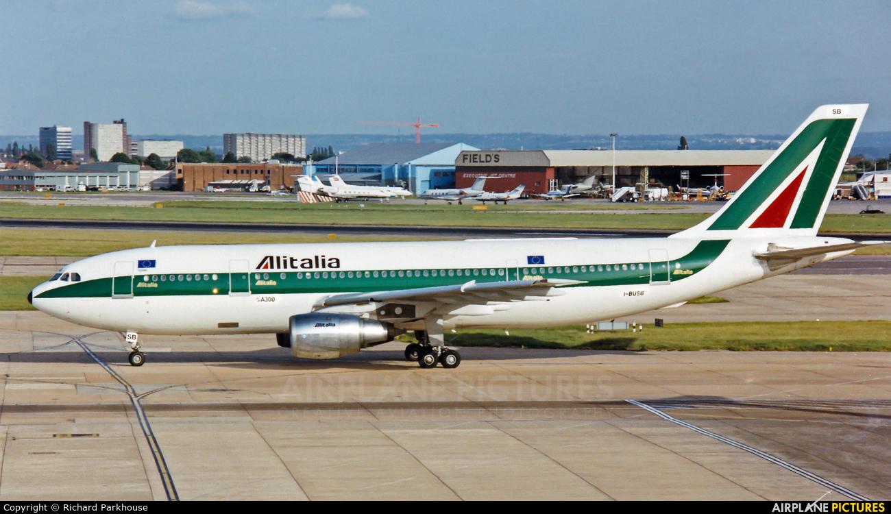 Alitalia I-BUSB aircraft at London - Heathrow