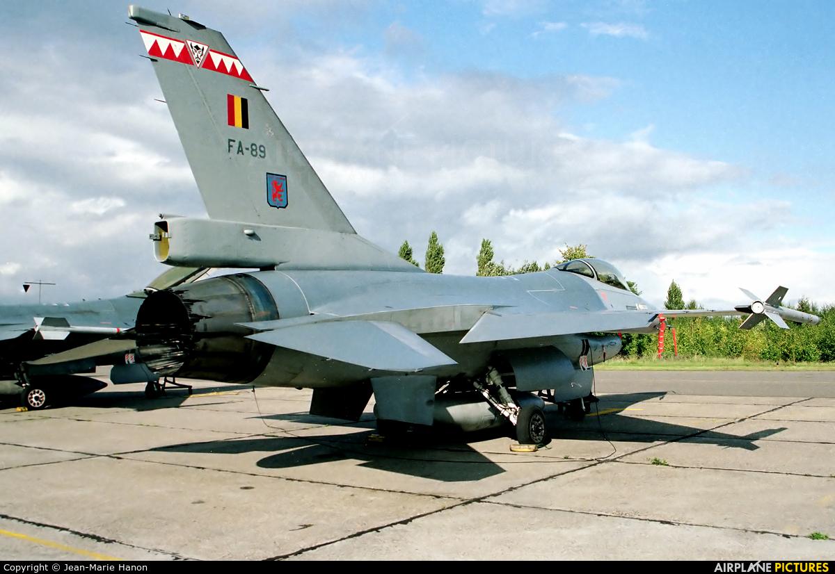 Belgium - Air Force FA-89 aircraft at Kleine Brogel