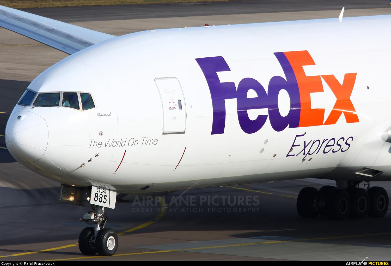 FedEx Federal Express N885FD aircraft at Cologne Bonn - Konrad Adenauer