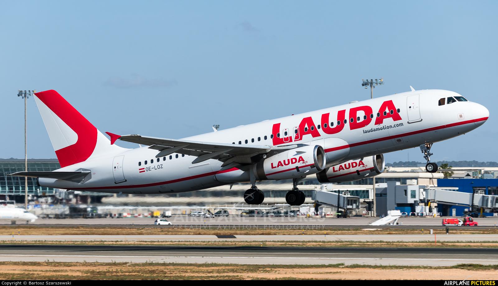 LaudaMotion OE-LOZ aircraft at Palma de Mallorca