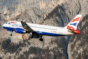 G-EUUU - British Airways Airbus A320 aircraft