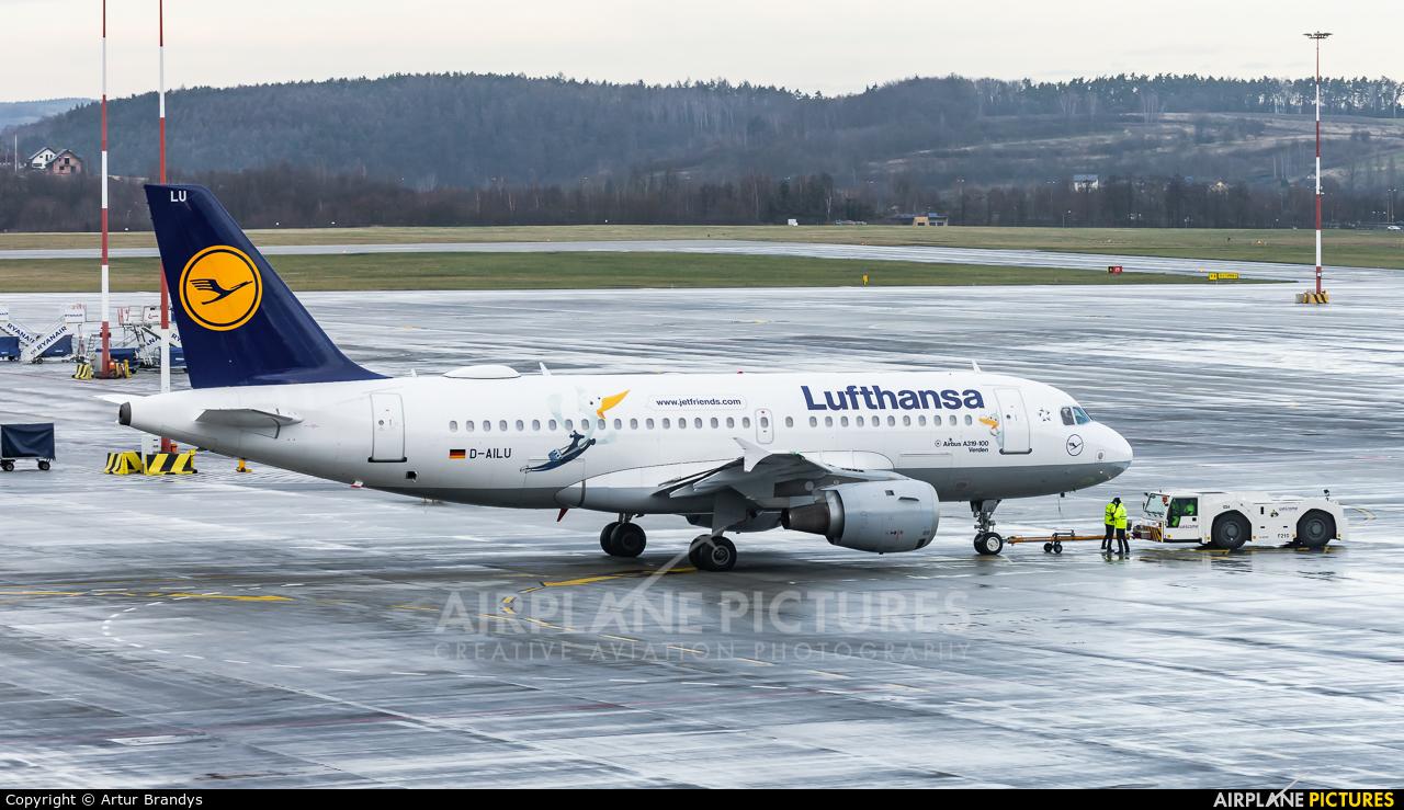 Lufthansa D-AILU aircraft at Kraków - John Paul II Intl