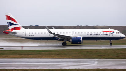 G-NEOV - British Airways Airbus A321 NEO