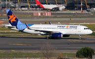 4X-ABI - Israir Airlines Airbus A320 aircraft