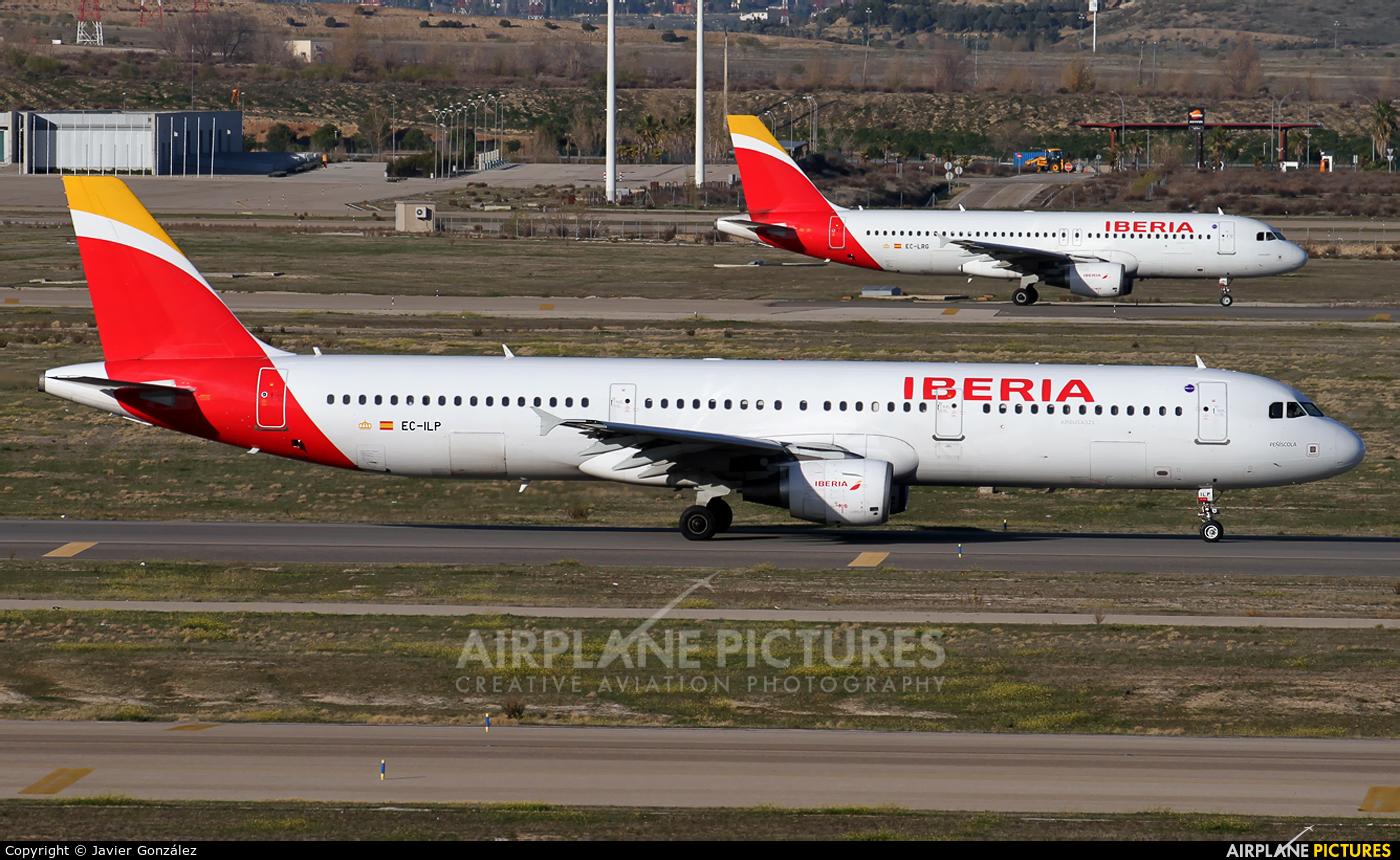 Iberia EC-ILP aircraft at Madrid - Barajas
