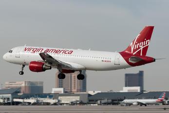 N630VA - Virgin America Airbus A320