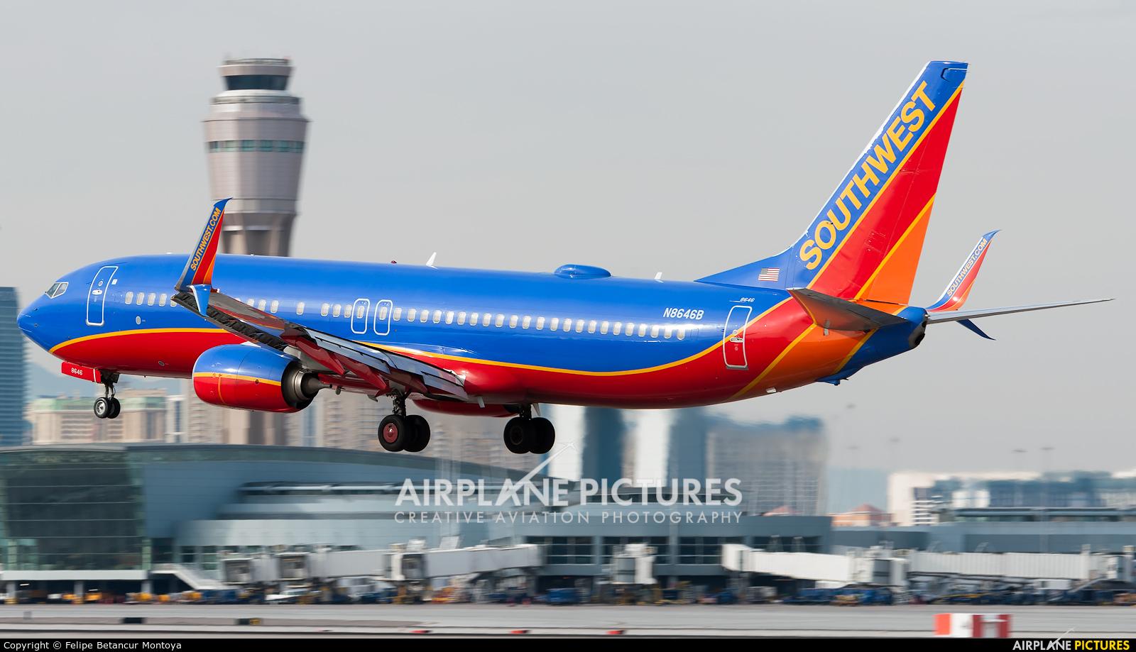 Southwest Airlines N8646B aircraft at Las Vegas - McCarran Intl