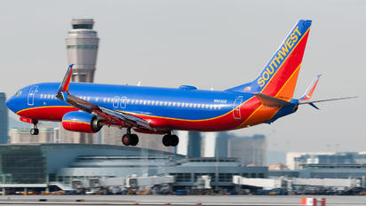 N8646B - Southwest Airlines Boeing 737-800