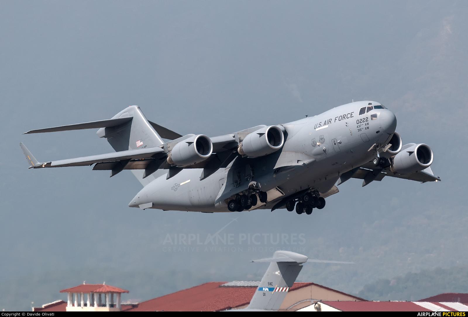 USA - Air Force 10-0222 aircraft at Aviano