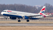 G-MEDN - British Airways Airbus A321 aircraft