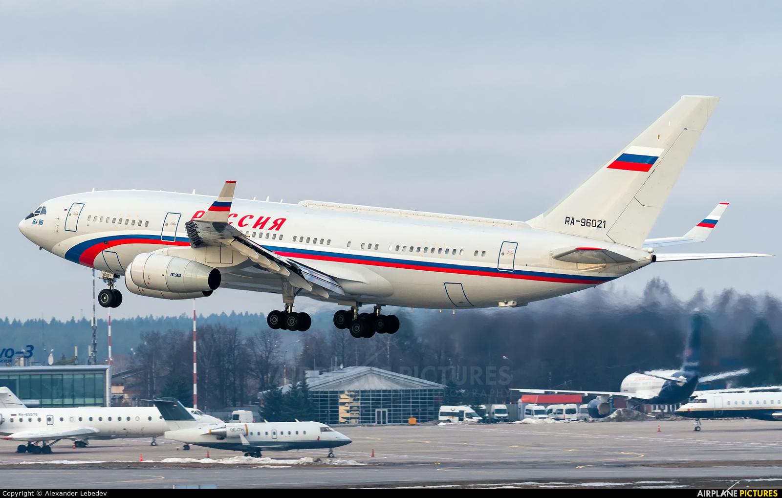 Rossiya Special Flight Detachment RA-96021 aircraft at Moscow - Vnukovo