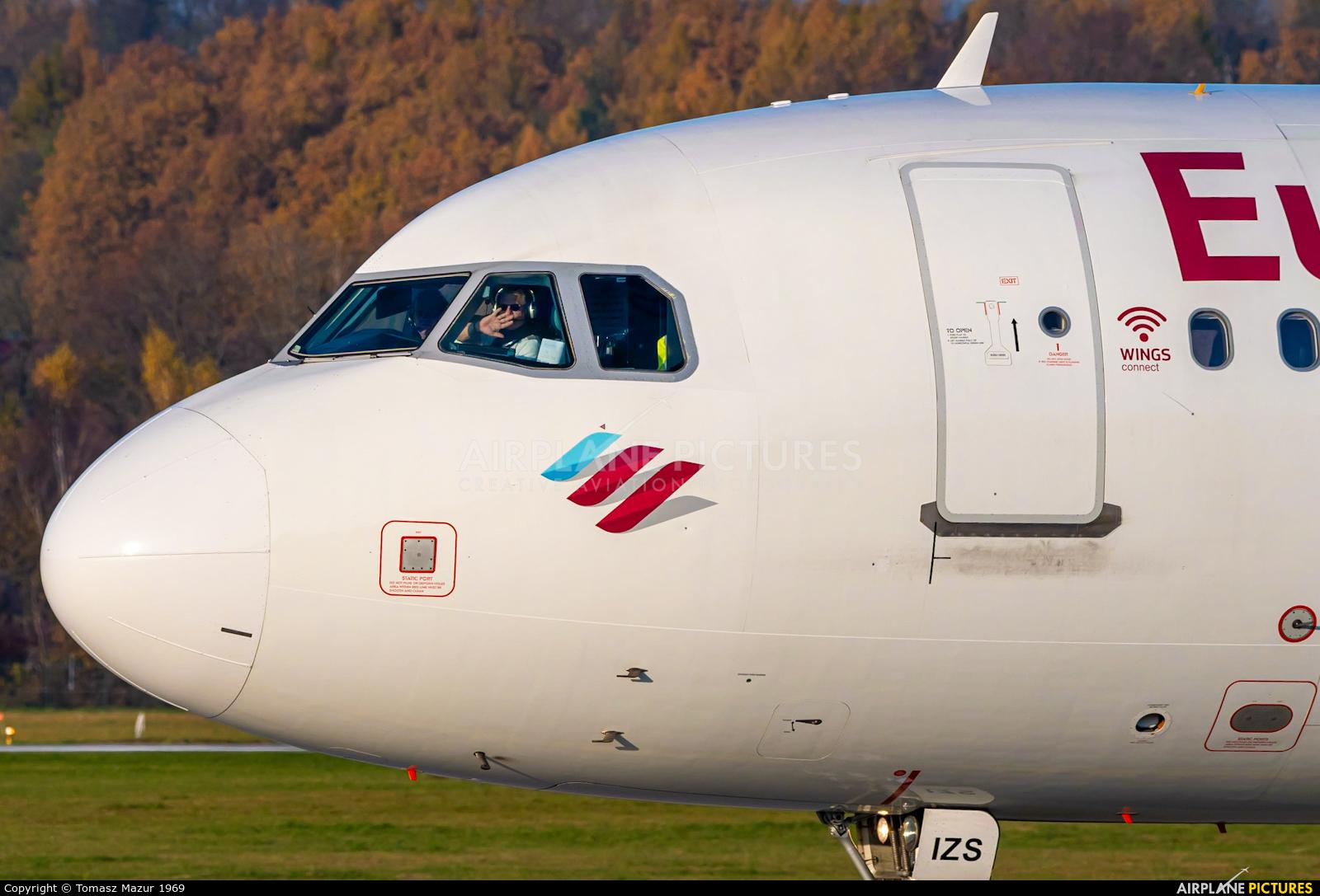 Eurowings D-AIZS aircraft at Kraków - John Paul II Intl
