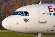 D-AIZS - Eurowings Airbus A320 aircraft